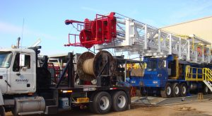 Wire Rope Spooling Truck
